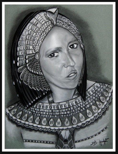 Portrait façon Cléopâtre