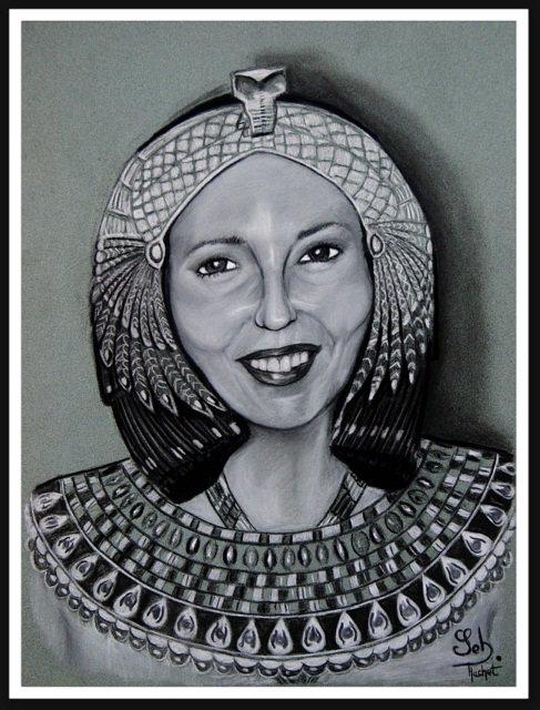 Portrait façon Cléopâtre 2