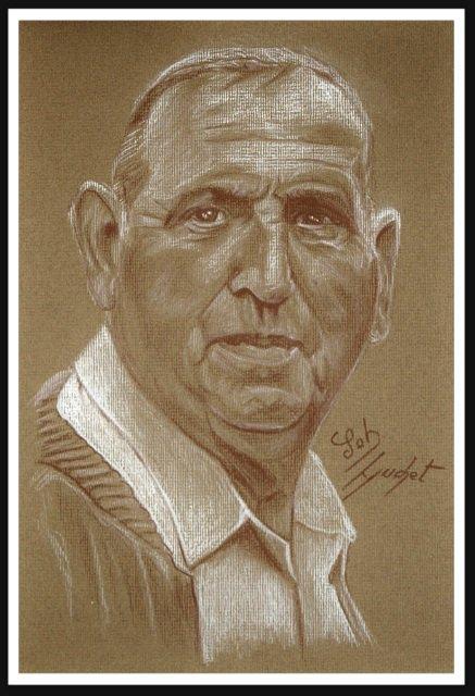 Portrait sépia de Marcel