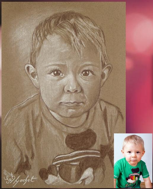 Portrait de Mathieu