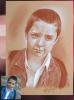 Portrait sanguine de Kylian.