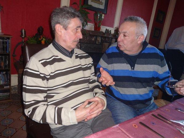 Une belle rencontre dominicale entre amis colombophiles - 2015 (2)