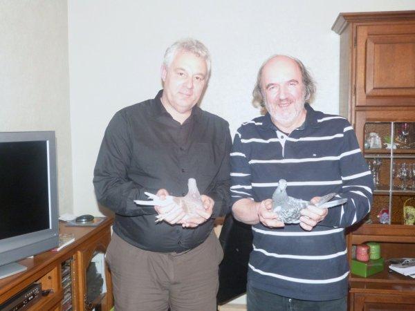 Une agréable après-midi & soirée chez nos amis , Jean Paul et Edmonde Froissart
