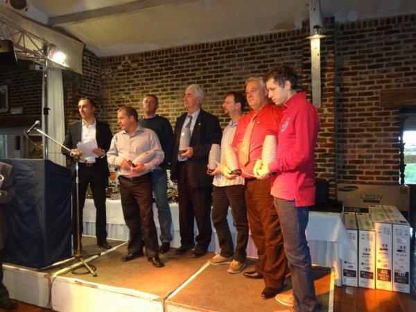 Thiméon - remise des prix 2015 du Club fond Wallonie