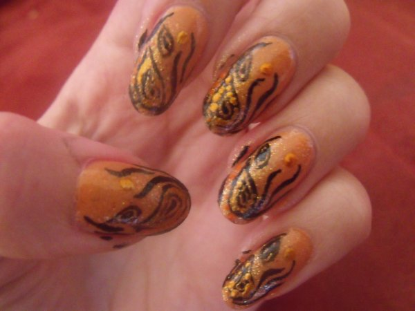 Nail art ethnique !