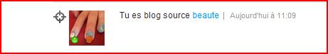 Je suis blog source beauté !