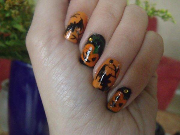 Nail art pour Halloween !