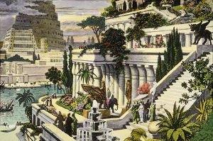 Qui connais la personne ayant construit les Jardins suspendus de Babylone?