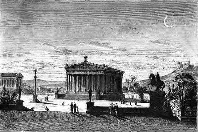 Sais tu quand le temple d'artémis aurait il été construit?