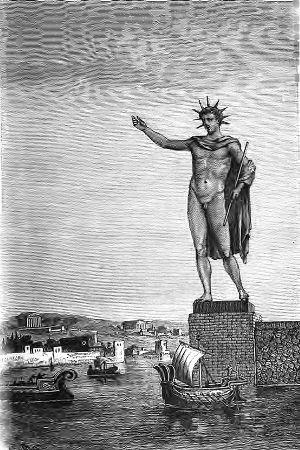 Sais tu qui à construit le colosse de Rhodès?