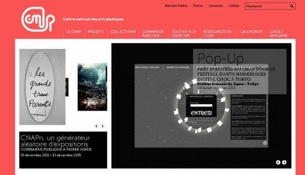 A la découverte du web - Le Centre National des Arts Plastiques :