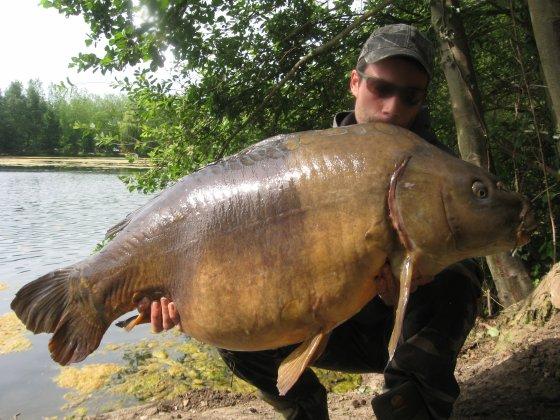 New record !! Miroir bicolore a 24.2kg avec un super combat !!!!!
