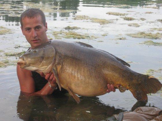 Un jolie big fish pour Greg !!!!!!!!!
