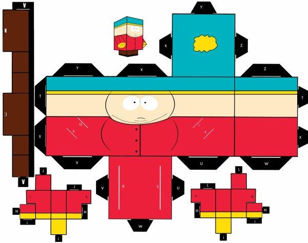 South Park - PaperCraft