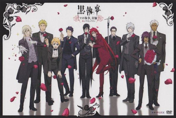 Fiche Manga et Anime n°2:  Kuroshitsuji (Black Butler)