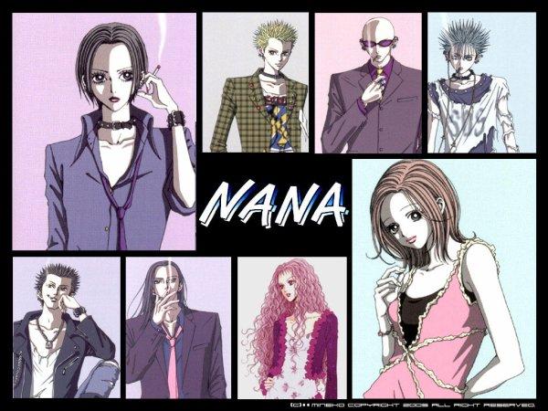 Fiche Manga et Anime n°3: Nana