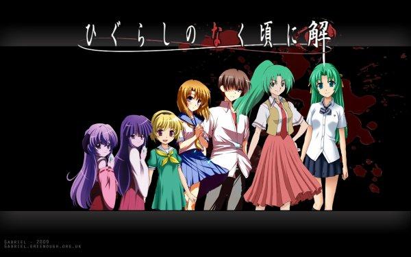 Fiche Anime n°2: Higurashi No Naku Koro Ni (Quand les cigales pleurent ou Hinamizawa le village maudit)