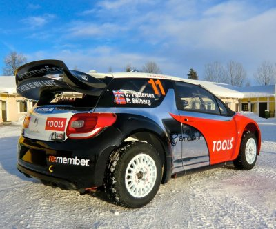 DS3 WRC Petter SOLBERG