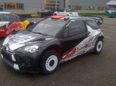 DS3 WRC Kimi Raikkonen
