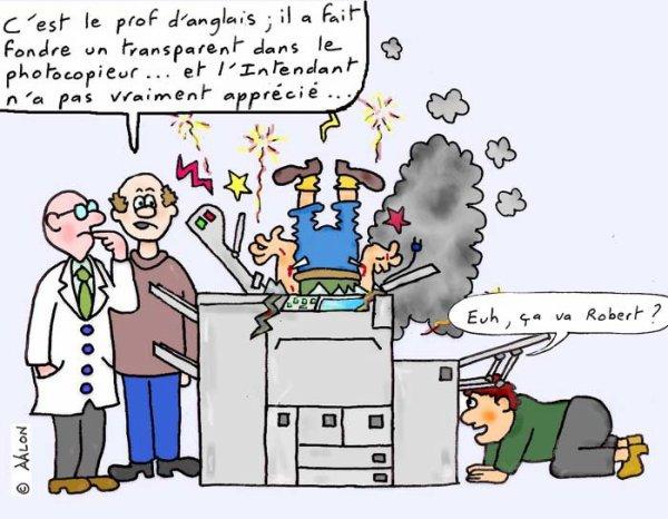 """Bonjour, je suis le réparateur de photocopieuse..."""""""