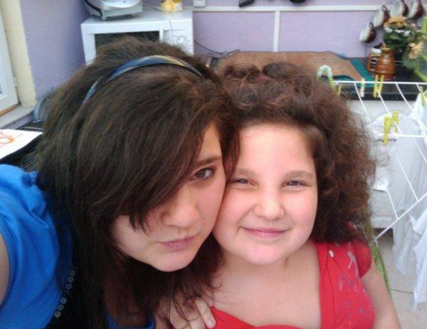 mes soeur ophelie et ornella