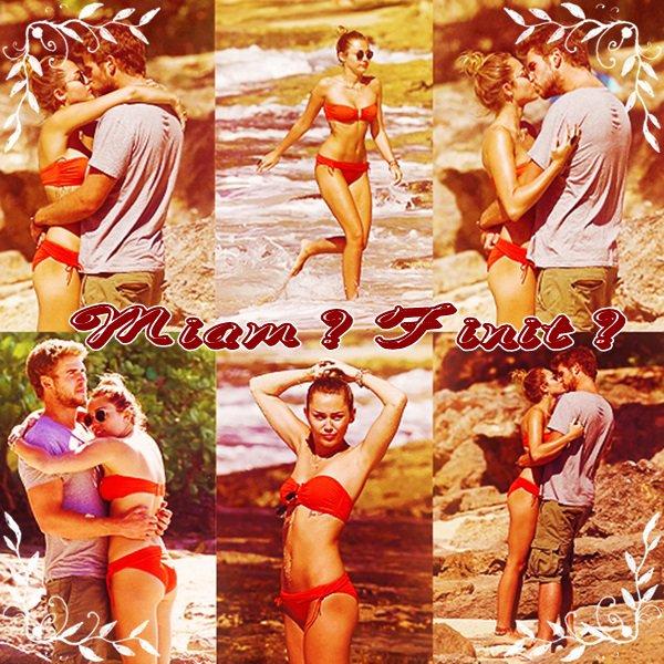 La fin de ''Miam'' (Miley et Liam) ?