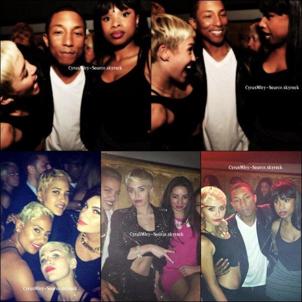 Miley a été aperçut en boite de nuit, en compagnie de quelque amis !
