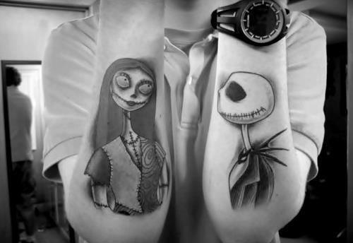 J'adore les tatouages !!