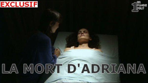 EXCLUSIF : Les photos du décès d'Adriana !