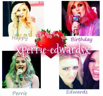 Happy Birthday Perrie Edwards ♥