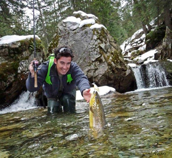 """Quelques photos """"saison de pêche à la truite 2012"""""""