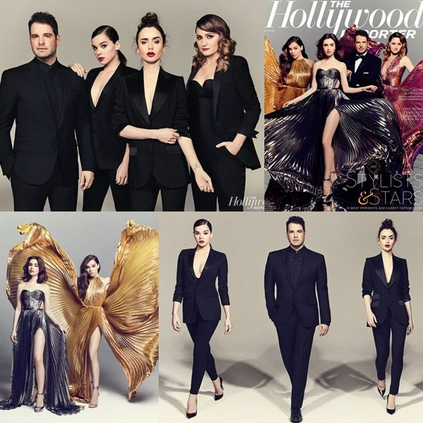 Hailee pose pour le Magazine The Hollywood reproter , Le 17 Mars 2017 !