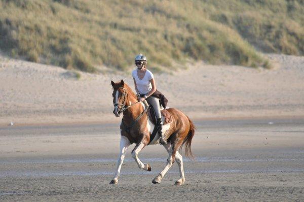 Week end à la mer avec Papayou... première fois sur la plage.