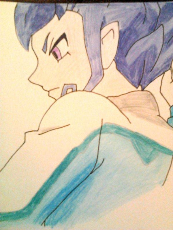 Puis un bon dessin pour passer le temps.