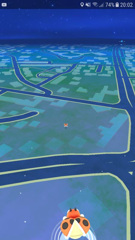 Quand tu a certain bug sur pokemon go et qui y a un mini pokemon XD