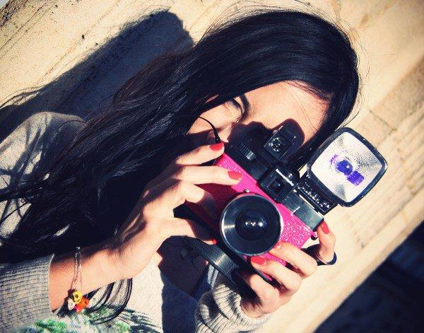 je suis ....... une photographe <3