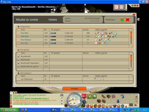 05/06/2012 Actu + Petit screen du week end  double xp