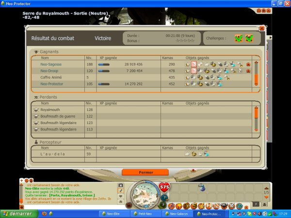05/06/2012 Actu + Petit screen du week end  double xp