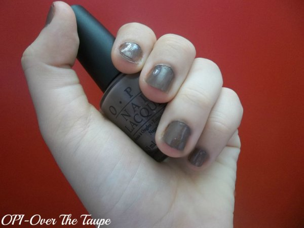 OPI-Over The Taupe