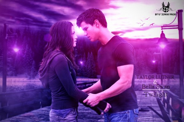 "taylor lunter & bella swan ""twilight"""