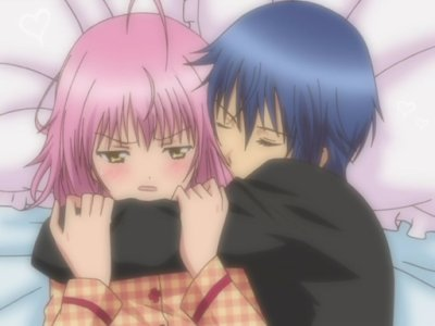 "Dessin n°1 - Shugo Chara ""Amu et Ikuto"""