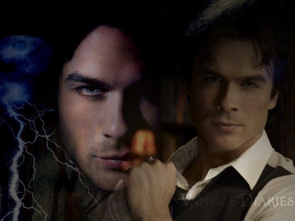 montage ke j ai fait  sur vampires diaries