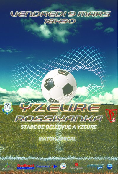 Affiche promotionnelle : YZEURE / ROSSIYANKA - SILVEROSS STUDIO 2012
