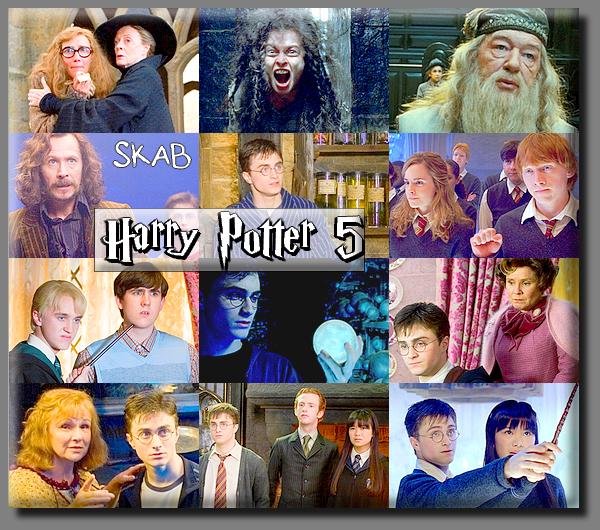 Film 5 : Harry Potter et l'ordre du Phénix