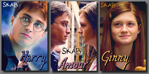 Couple : Harry et Ginny