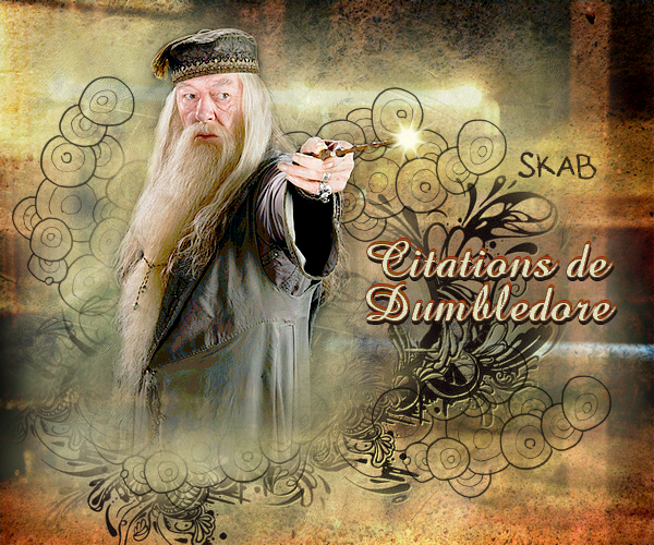 Citations d'Albus Dumbledore