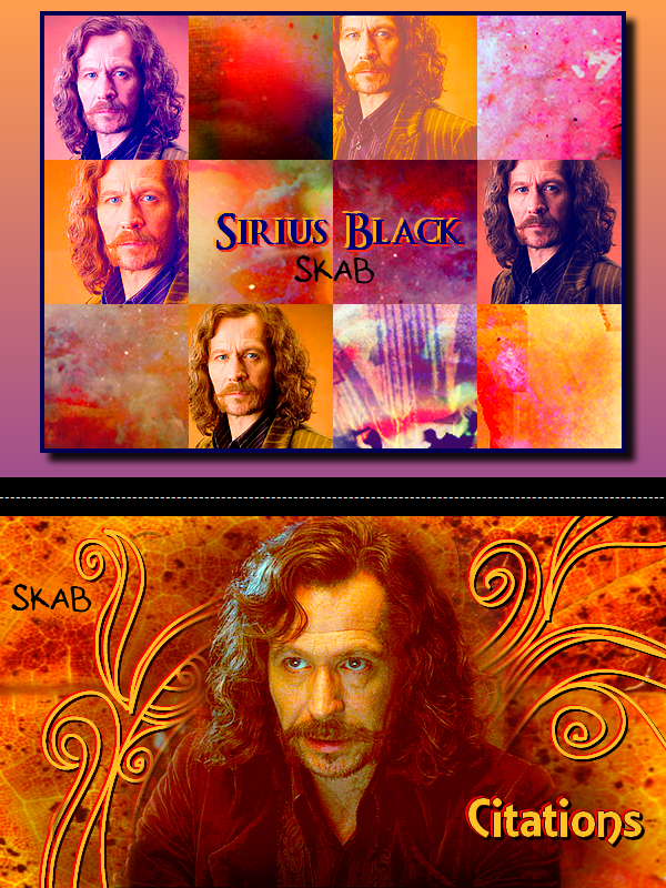Citations de Sirius Black et Maugrey Fol Oeil