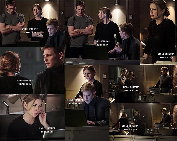 """Découvrez les stills de l'épisode 03 x 21 intitulé """"Impetus"""" de la série Revenge.La saison 3 se rapproche de la fin. La saison 4 n'est pas confirmée pour le moment. Espérez-vous une suite de R. ou non ?"""