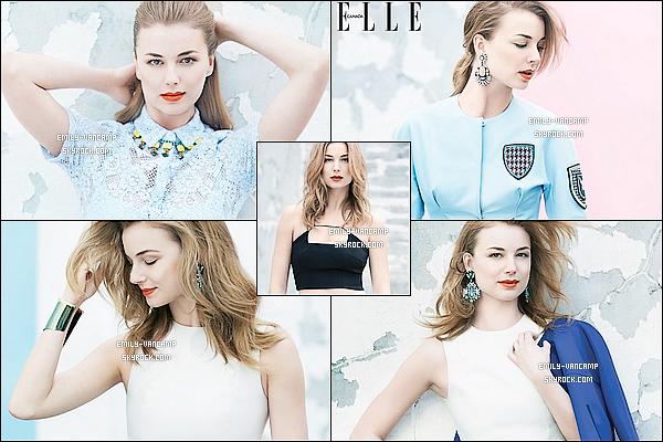 """Découvrez ou redécouvrez un photoshoot réalisé en 2014 pour le magazine """"Elle"""".La miss a donc fait la Une du magazine canadien. (pas le français) Elle est d'ailleurs très glamour et séductrice. Vos avis ?"""