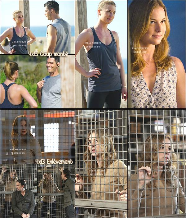 VOICI LES STILLS DE LA TOUTE DERNIERE SAISON DE LA SERIE REVENGE !La série se termine après 4 belles saisons et beaucoup de rebondissements. J'ai adoré suivre Emily dans cette aventure.